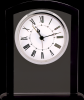 Black/Clear Square Arch Glass Clock Boss Gift Awards
