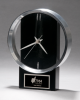 Black and Silver Modern Design Clock Secretary Gift Awards