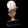 Baseball Tri Star Resin Tri-Star Resin Trophy Awards