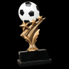 Soccer Tri Star Resin Tri-Star Resin Trophy Awards