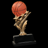 Basketball Tri Star Resin Tri-Star Resin Trophy Awards