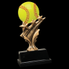 Softball Tri Star Resin Tri-Star Resin Trophy Awards