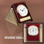 Reversible Clock Thermometer Achievement Award Trophies