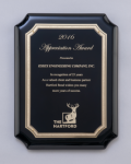 Black High Gloss Plaque Achievement Awards