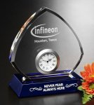 Sebring Clock Crystal Award Achievement Awards