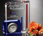 Chesterfield Clock Crystal Award Achievement Awards
