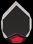 Red Marquis Acrylic  Achievement Awards