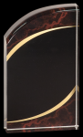 Red Marble Rounded Acrylic Achievement Awards