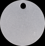 Round Stainless Steel Industrial Tags Banners