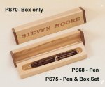 Tortoise Shell Finish Pen Boss Gift Awards