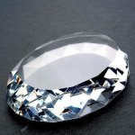 Gem Cut Oval (Flat Bottom) Boss Gift Awards