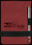 Rose' Leatherette Pad and Pen Boss Gift Awards