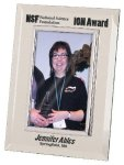 Silver & Glass Picture Frame Award Boss Gift Awards