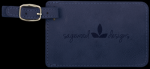 Blue Leatherette Luggage Tag Boss Gift Awards