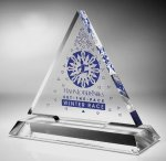 Triangle Acrylic Award Employee Awards