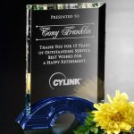 Greenbury Indigo Rectangle Employee Awards