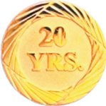 20 Year Pin Employee Awards