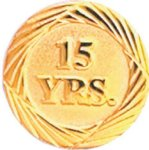 15 Year Pin Employee Awards