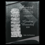 Black/Silver Apex Acrylic Plaque Employee Awards