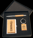 Maple Finish Gift Set Employee Awards