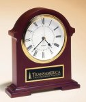 Napoleon Mantle Clock with Hand-rubbed Mahogany Finish Executive Gift Awards