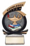 Gold Star Knowledge Award Gold Star Resin Award Trophies