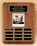 American Walnut Photo Perpetual Plaque Golf Awards