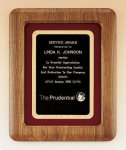 American Walnut Frame Plaque Golf Awards