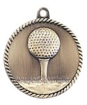 High Relief Golf Medal Golf Awards