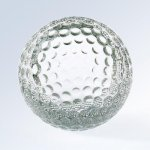 Golf Ball (Slanted Front) Golf Awards