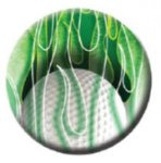 Ball Marker Ball/Green Flames Golf Awards