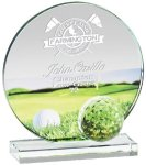 Glass Golf Award Golf Awards