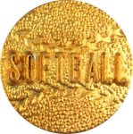 Softball Lapel Pins