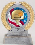 2 Mylar Holder Multi-Activity Mylar Resin Trophy Awards