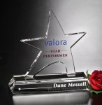 Prestige Star Crystal Award Patriotic Awards
