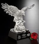 Majestic Eagle Glass Award Patriotic Awards