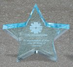 Star Acrylic Award Patriotic Awards