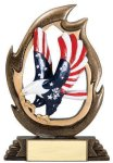 Flame Series Eagle Patriotic Awards