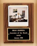 American Walnut Photo Plaque Religious Awards