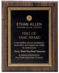 Walnut Hardwood Bevel Edge Plaques Religious Awards
