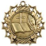 Religious Ten Star Medal Religious Awards