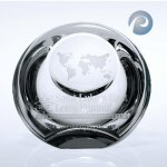 Globe Dome Paper Weight Sales Awards