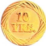 10 Year Pin Sales Awards