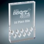 Silver Diamond Mirage Acrylic Sales Awards