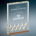 Gold Diamond Mirage Acrylic Sales Awards