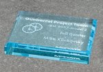 Paper Weight - Straight Bevel Sales Awards