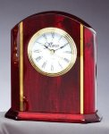Desk Clock With Plate Sales Awards