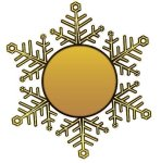 Holiday Ornament - Snowflake Secretary Gift Awards