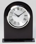 Black Desk Clock Award Secretary Gift Awards